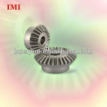 Gleason Spiral Bevel Gear Manufacturer Different Plastic Brass Aluminum Steel Material Straight or Helical Spiral Bevel Gear