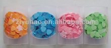 Promotional bath rose petal soap,wedding favor rose petal soap