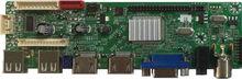 2USB+2HDMI+1AV+1VGA+1TV LCD/LED Full Function TV Board For Worldwide Analog TV System PAL/NTST/SECAM
