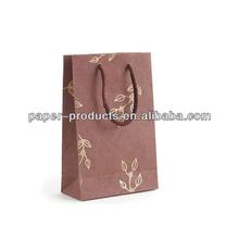 Design Matt Finish Paper Carrier Bag