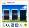 A class solar panel 155W mono