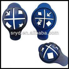 Golf ball liner marker pen set for shuran