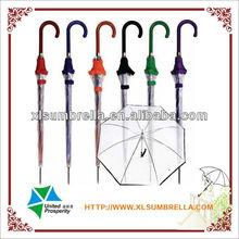 Promotionl rain transparent umbrella