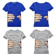 2014 Tshirt Fashion Design Couple T Shirts