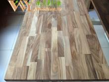 4000x720x40mm Acacia Solid Wood - Kitchen Worktops & Breakfast Bars - Kitchens