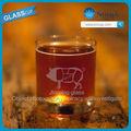 2013 caliente de la venta! Copa de vino rojo/de vino de vidrio taza/de vino de cristal de whisky de cristal grabado al agua fuerte de tocino vasos de whisky