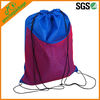 stylish nylon mesh drawstring backpack bag