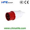 HF-015L 16A Industrial plug 3P+E+N 380-415V