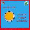 High CRI 12v 3w led 300mA epistar chip (Aluminum cob led)