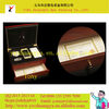 Stock red paint wooden iphone packaging box 2 layer iphone 5 box fashion iphone style box