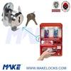 MK104-01 flat key mini vending machine lock