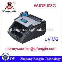 FJ08G super fake us dollar/eur/india banknote counter