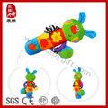 seguro popular colorido juguete de felpa conejo con sonaja sacudiendo funcional juguetesparabebés
