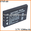 For Fuji power camera portable battery NP-60 best quality