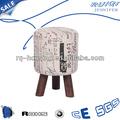 Patas 3 taburete de madera rq-c26