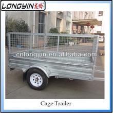 Cargo cage/box trailer
