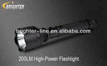 CREE Q5 flashlight electric charge torch light