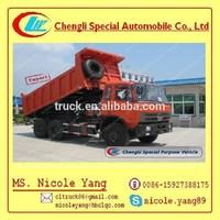 25 tons Dongfeng 6*4 truck High-capacity Dump Lorry, rental dump truck