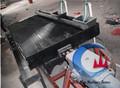 Or, détection machine table à secousses, en fibre de verre 6s table à secousses