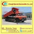 15m3 caminhão Dongfeng 6 * 4 caminhão, Caminhão de descarga de venda em dubai