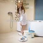 top 360 magic mop design and made cheap 360 degree spin mop & spin dry bucket