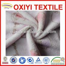 print coral fleece baby comforter