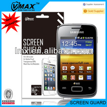 Touch screen protector film for Samsung galaxy young s3610 oem/odm (Anti-Glare)