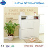 white shoe storage cabinet