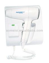 LED night light hotel wall mount hair dryer