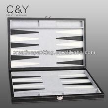 leather backgammon set/game board set