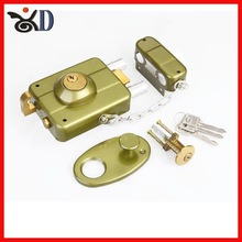 Hot sales security rim lock door lock for South America market