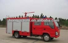 China ISUZU 4X2 1.5M3 MINI dry powder fire truck