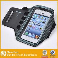Neoprene meterial Sport armband Case for iPhone 5, polk dot sports armband