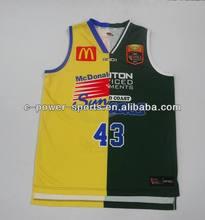 All over subliamtion basketball uniform design