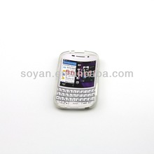 Transparent TPU Phone case for BB Q10,other colors available