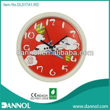 Guang zhou DANNOL home decor 10inch plane cheap plastic kids clock pictures