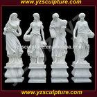White Marble Four Seasons Marble Statues STU-A369L