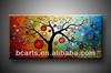 Popular High quality Modern abstract paint by numbers, abstract canvas tree painting for home decoration on sale