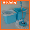 New Mop bucket no foot pedal rotate 360 degree mop with 2 screw mop head