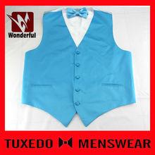 satin boy polyester woven jacquard waistcoat