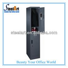 High quality steel gym locker/foot locker/steel locker