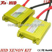 AC 12v 55w golden ultra-slim golden hid ballast igniter for hid xenon kit