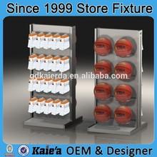 basketball display stands/basketball display rack/basketball display showcase