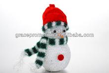 Snowman target animals paint