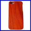 Red wood for wholesale wood mobile phone case for iphone 4