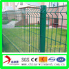 PVC coated wire mesh fence with curves
