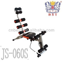 BST JS-060S New Design SIX PACK CARE multi gym equipment Abdominal Training Machine with patent,CE as seen as tv