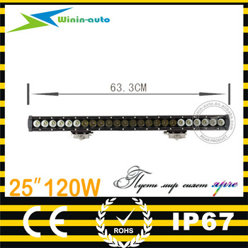 top products 25inch 120W LED driving light bar for offroad 8400 lumen WI9017-120