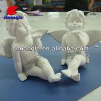 Kissing angel statue, kissing angel figurine