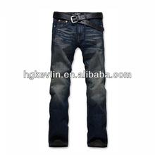 Vintage top quality fashion comfortable new jeans pants straight leg